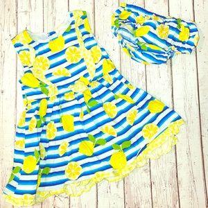 Other - Baby girl lemon dress